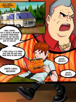 Adult Comics – Ben 10 Bad Grandpa 2 español