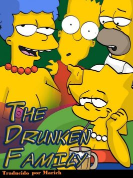The Simpsons – The drunken family – Español