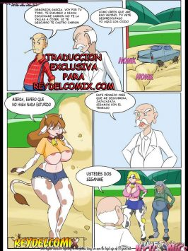 Milffur – The geezer farm 2 – Español