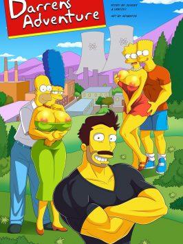 La Aventura de Darren – Simpsons XXX