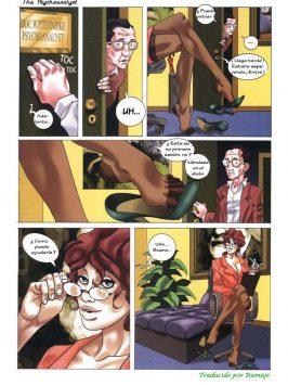 Adult Comics – La Psicoanalista