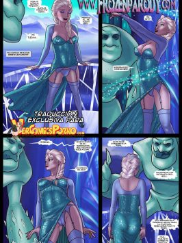 Frozen Parody 12 – Elsa Meet Jack