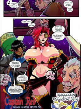 Manaworld 8 Captain Red