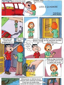 Lois y Quagmire