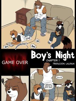 Noche entre chicos