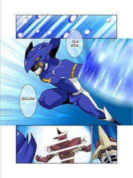 Dragón Ranger Azul 01