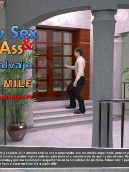 Sexo salvaje y culo de milf