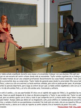 Jason el alumno & Taylor la maestra