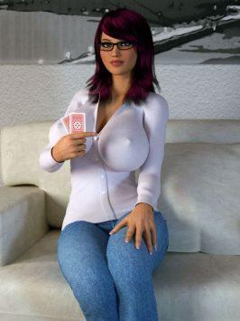 Lana Strip Poker [Intrigue 3D]