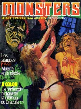 Monsters Nº7 Editorial Zinco