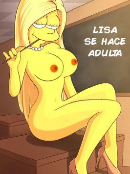 Lisa se hace adulta