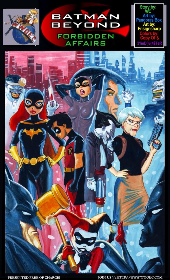 Batman Beyond Forbidden Affairs Cap 1 4