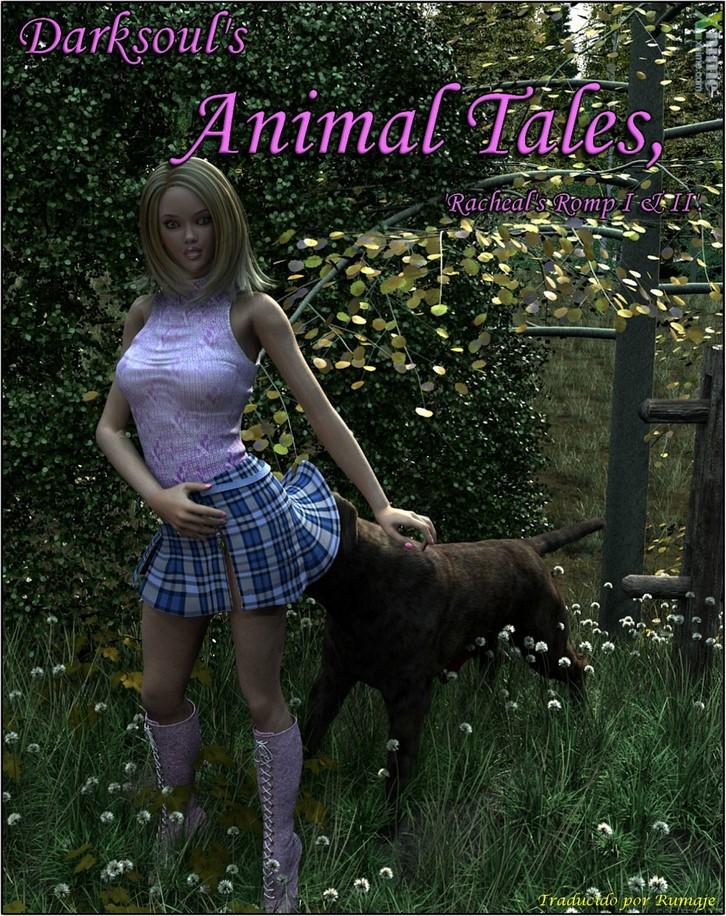 3D Animals - Animal Tales Racheals Romp - Español 4